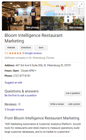 How to Use Google My Business for Restaurant Marketing